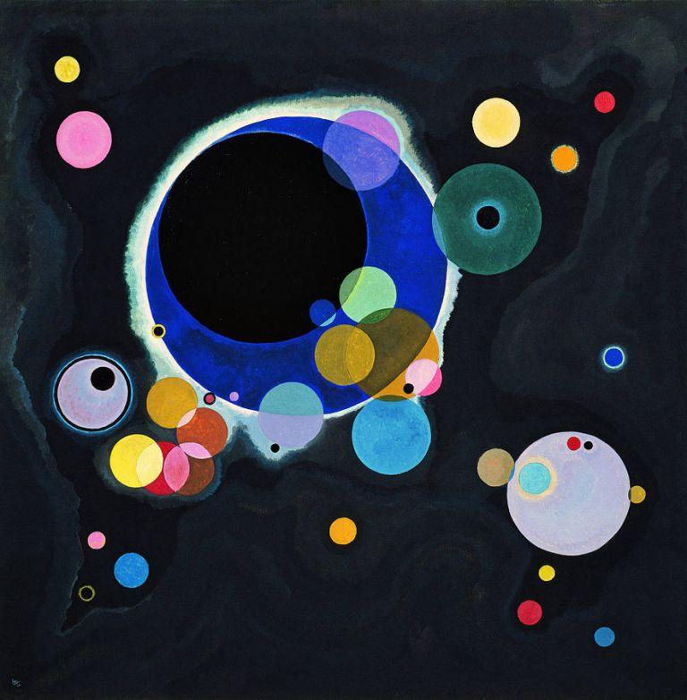 Vassily Kandinsky 1926, Several Circles